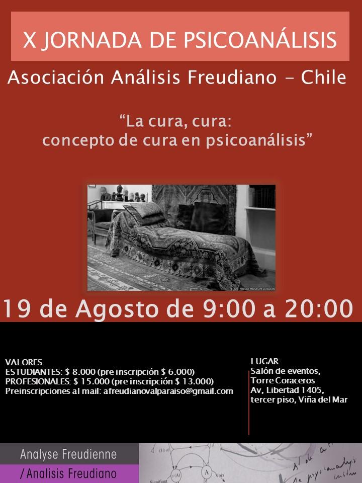 Chile -X Jornada de Psicoanálisis -Agosto 2017