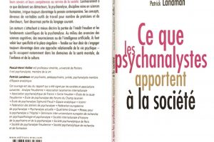 Publication du livre: Ce que les psychanalystes apportent à la société