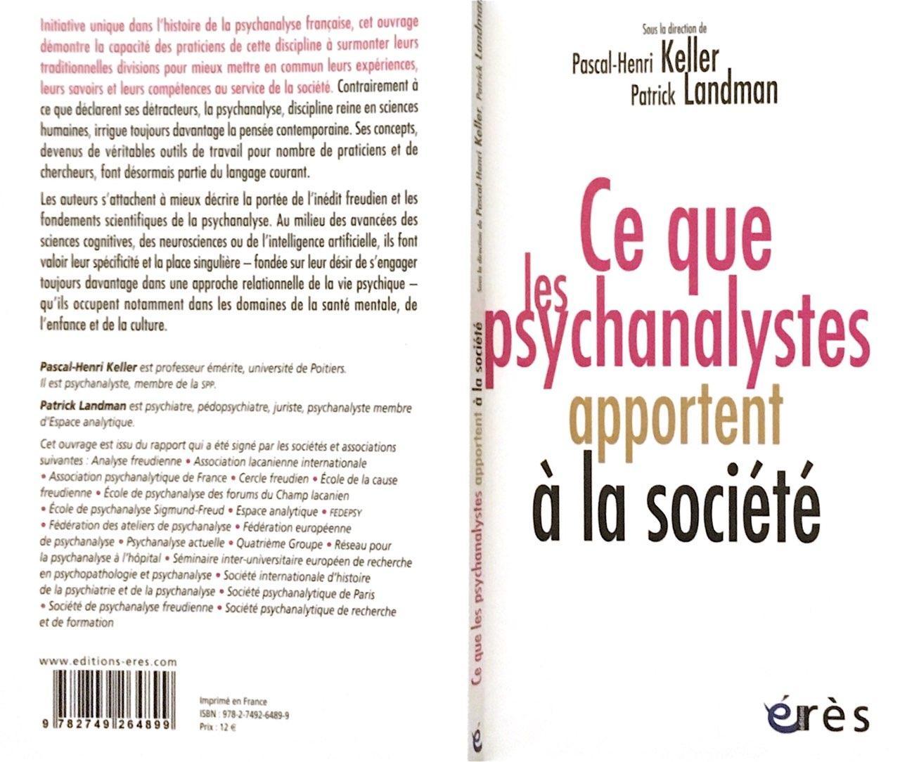 Publicación del libro: Lo que los psicoanalistas aportan a la sociedad