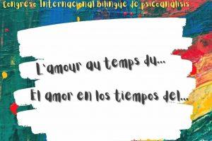 """Paris Congrès International bilingue: « L'amour au temps du……."""" -3 et 4 octobre 2020"""